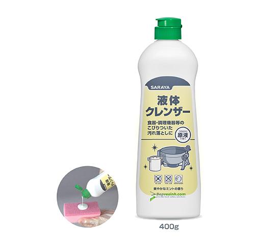 Dung Dịch Tẩy Rửa Đa Năng Dạng Kem Liquid Cleanser 400g